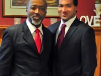 Lincoln Robinson (l) & Marcel Robinson (r)