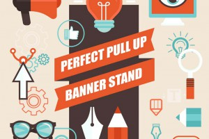 The perfect pull-up banners are designed by Interlinc Communications
